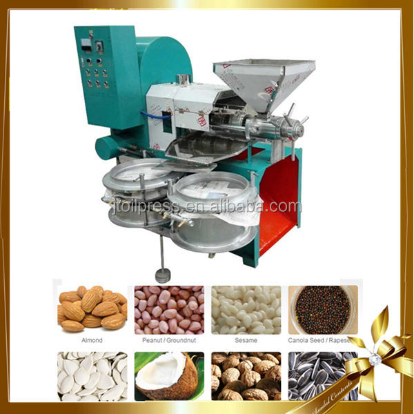 Automatic oil mill soybean peanut sunflower corn oil production line