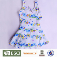 Factory Price Cute Print Polyester Swimsuit For Kids