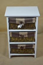 Wicker Cabinet Side Small Cheap Wooden Egyptian Style Furniture