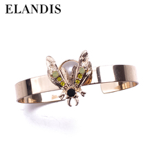 animal rings jewellery wedding alloy bangles with enamel