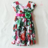 flower fancy dress costumes flower priented casual wear dress