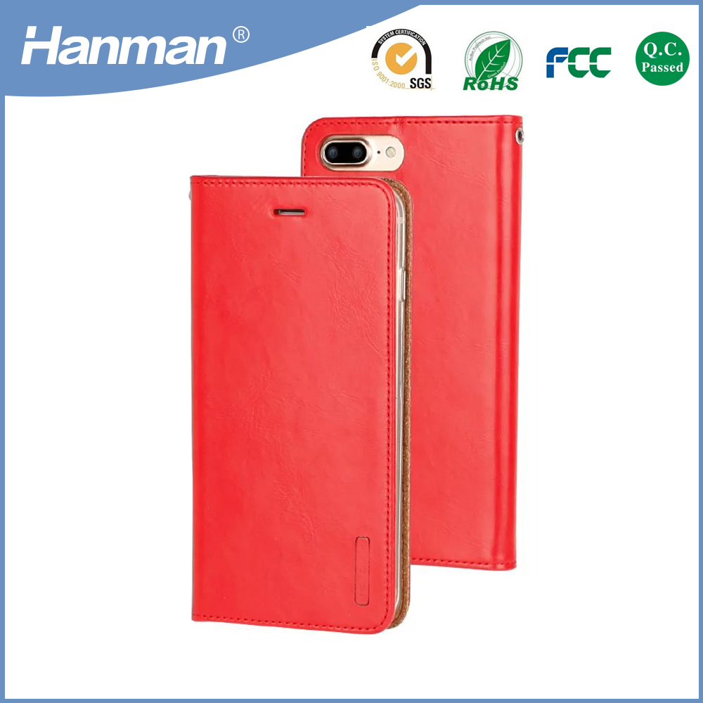 2017 fashion for iphone 6s plus tablet case, for apple iphone 5 s colors pu wallet case
