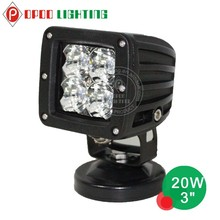 20w led work light, Offroad 4x4 cree 3inch 20w led work light
