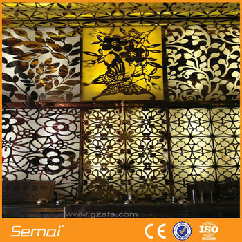 Aluminium Stainless Steel Perforated Decorative Sheet Metal Panels