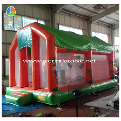 2016 newest panda shape inflatable bouncer jumper house