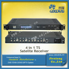 International Satellite TV Receiver/4 in 1 TS Satellite Receiver