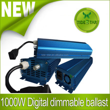 ETL Listed 1000W HID Digital dimmable Ballast for Hydroponics Indoor Grow Lighting