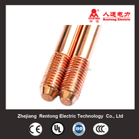 copper clad steel ground earth rod in electrical earthing system