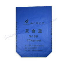 Factory sale kraft paper chemical resistant bag 25kg block bottom