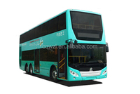comfortable design hybrid double decker travel city bus