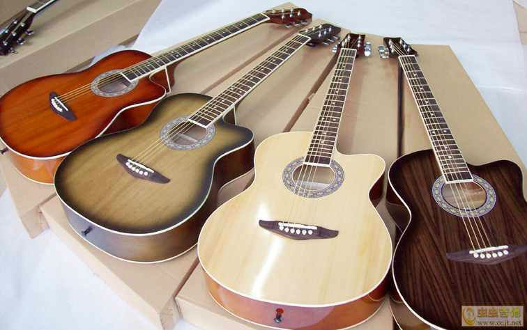 good price custom acoustic guitar made in china