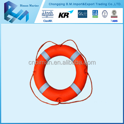 Water Safety Products Solas Approved 2.5kg Lifebuoy With 2 Handles