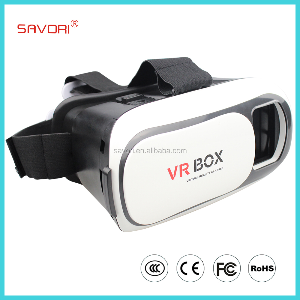 High Definition 3DVR Glasses, Virtual Reality 3D Glass for 3.5 - 6 inch Smartphone