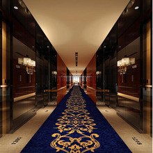 China produces hotel corridor wall to wall Wilton carpet