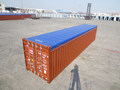 40ft ISO9001 BV GL CCS ABS LR Certificated soft opentop container