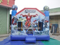 commecial hero inflatable bouncer with multi theme