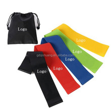 Wholesale Power Jump Stretch Custom Printed Latex Exercise Resistance Loop Bands