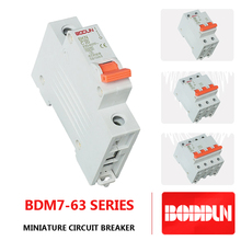 BDM7 WITH 63 LG 63A 1P MCB AUTOMATIC MINIATURE CIRCUIT BREAKER
