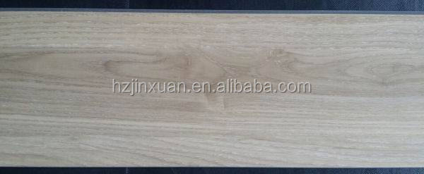 JXWN020 In stock Wood looking vinyl floor with clicks small quantity available with low MOQ popular used in market