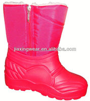 New Injection leopard boots for outdoor and promotion,light and comforatable