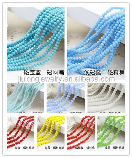Rondelle crystal beads loose glass beads alibaba express beads for jewelry making