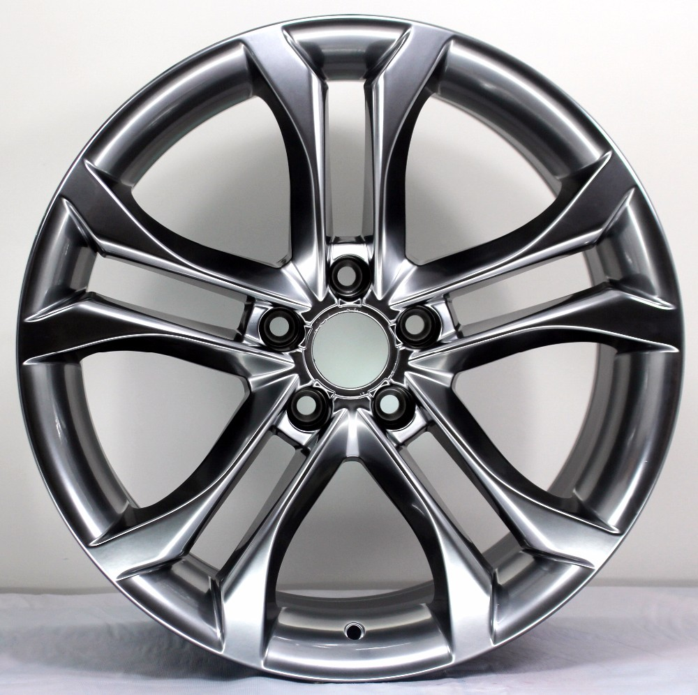 18 inch chrome alloy rims double spokes star wheels with 5 holes