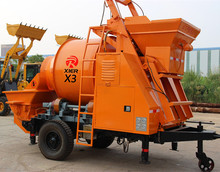 Popular and High-profile diesel concrete mixer pump and mobile concrete mixer and pump