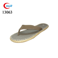 Hemp rope eva slipper flat mens bulk flip flops