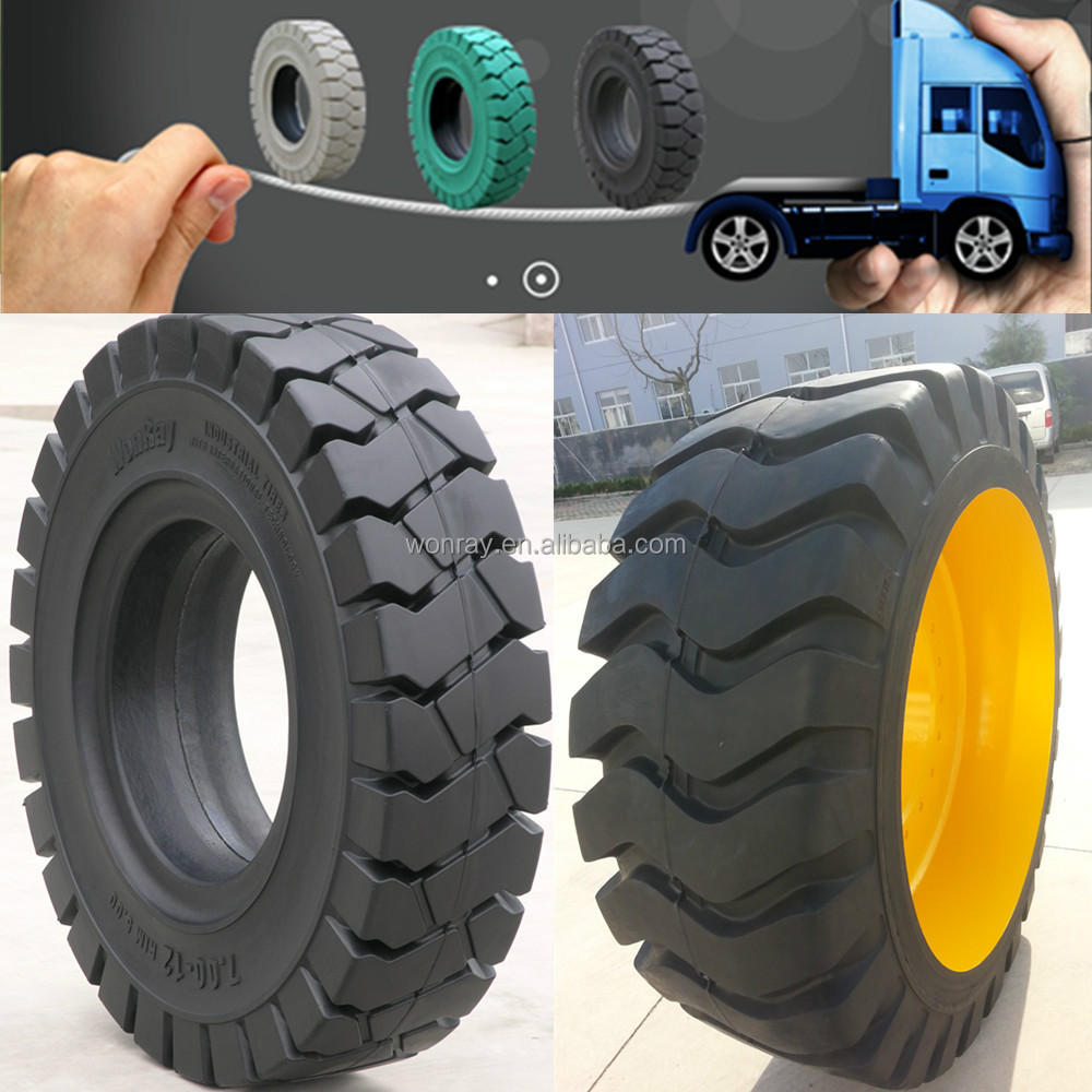 Well-reputed 11.00-20 Military Off Road Truck Tires, Solid Tire atv Tires
