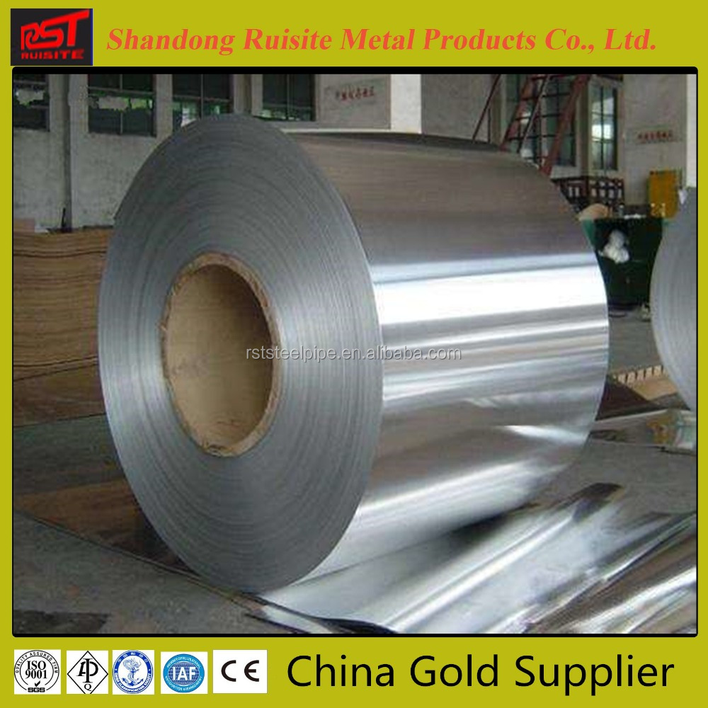 Hot selling Cold Rolled 8K Stainless Steel 304 Coils with certificate