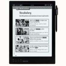 Low consumption 13.3 inch ereaders for education project 2018