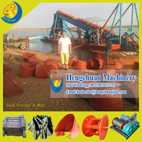 Africa Hot Sale River Sand Dredger/Sand Dredger Machine/Bucket Chain Dredger for Sale