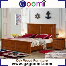 Goomi Home Furniture Bedroom American Style Adult G1611# bed boat wood furniture indonesia