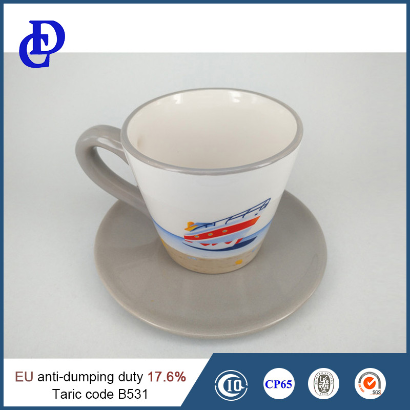Wholesale tea cup and saucer
