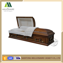 China market wooden bed models casket