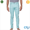 Custom blue casual jeans for men