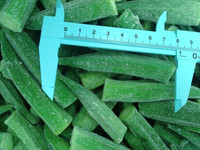 2016 New Crop Fresh Organic IQF Frozen Whole okra on sale