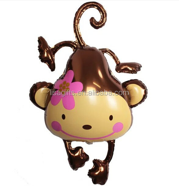 hot selling High quality monkey shaped floating balloons