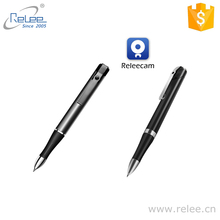 Relee private WIFI camera HD 720P pen hidden video recorder camera WIFI pen DVR with battery