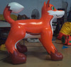 High Quality inflatable husky ,China inflatable hot dog Suppliers