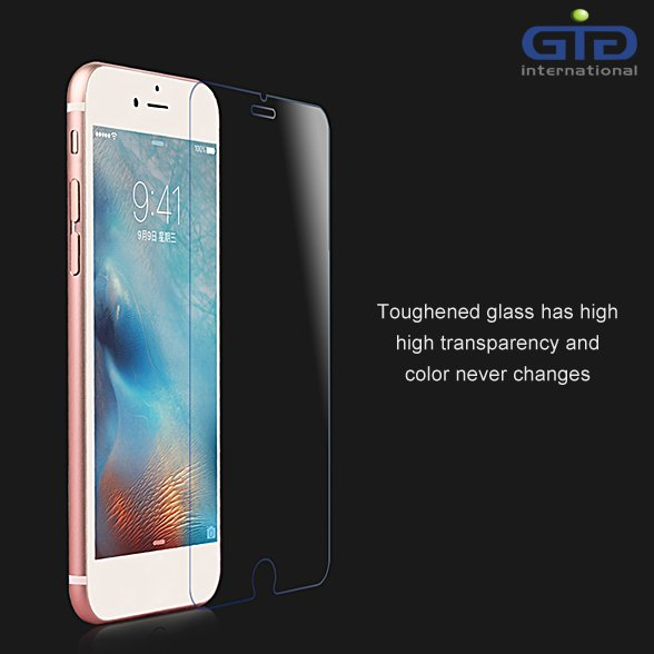 9H Tempered Glass For iPhone 6 Plus Screen Protector Wholesale