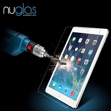 Golden supplier! Nuglas newest tablet 9H anti- shock clear tempered glass screen protector for ipad mini 4