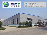 2015 China Tip Metal structure warehouse workshop shed / steel roof truss design shed