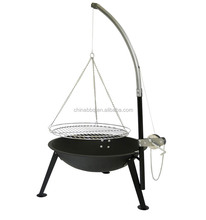Hot selling outdoor homemade swing bbq gril