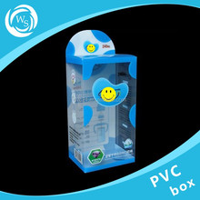 New style of clear pvc box pvc electronic products box plastic packing box