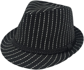 Wholesale Paper Fabric Cheap black Fedora Hats