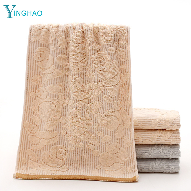 New 32 shares of cotton cloth towels creative jacquard kung fu panda supermarket gift boxed towel <strong>manufacturers</strong> wholesale
