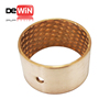 DW40 customized Bronze sleeve bearing with diamond lubrication indents