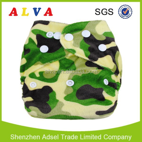 Alva Baby Cloth Diapers With Microfiber Insert Baby Diaper of Famous Brand