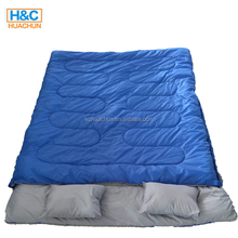 Special heated outdoor camping 2 person double sleeping bag